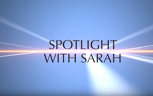 Spotlight With Sarah: Featuring Chantal Mariotti