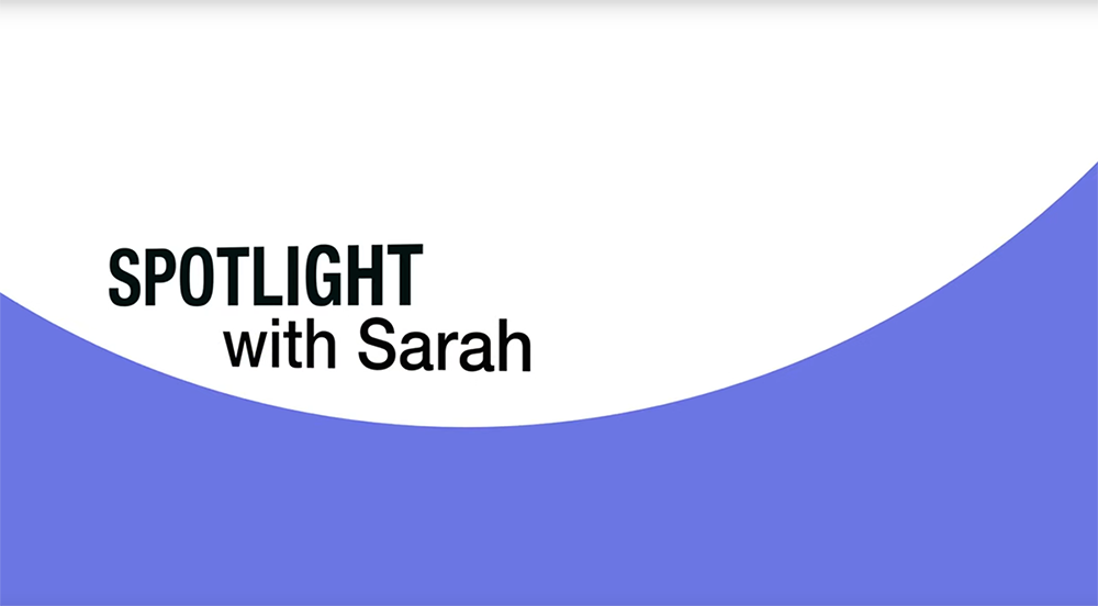 Spotlight With Sarah: Featuring Candice Gottlieb-Clark