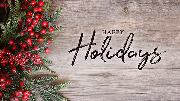Thank You and Happy Holidays From United Agencies