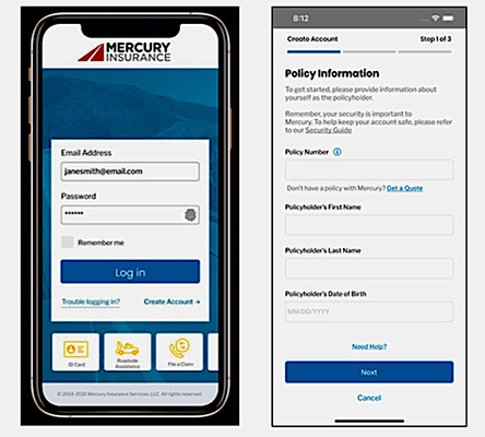 Using the New Mercury Insurance App Keeps You Connected 24/7